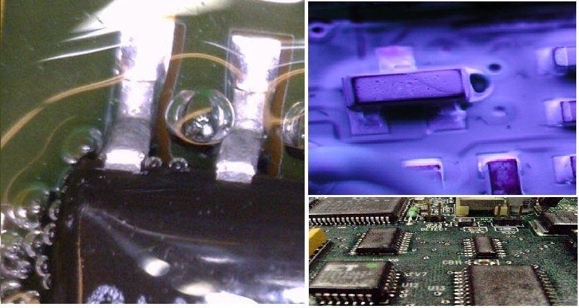 Conformal Coating Bubble Example